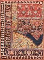 Antique Persian Bidjar Sampler Rug 47377