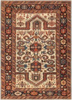 Antique Caucasian Perpedil Carpet 48099