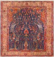 Antique Persian Bakhtiari Rug 48004
