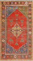 Antique Turkish Konya Rug 47394