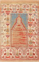 Antique Turkish Milas Prayer Rug 47592