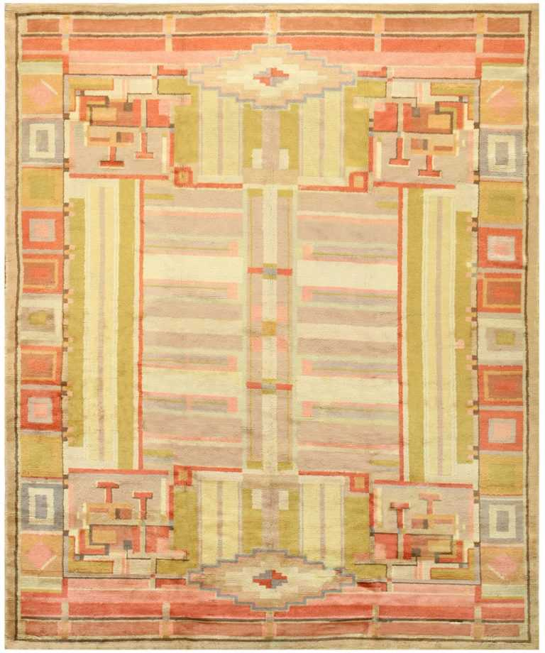 French Art Deco Rug 48237 Detail/Large View