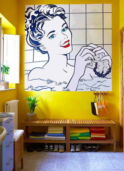 Graphic Art Deco Interiors by Nazmiyal