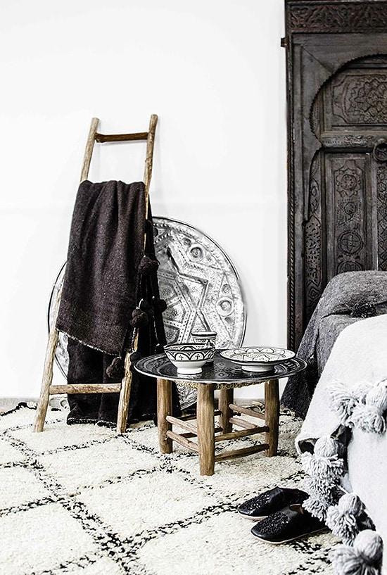 Moroccan Beni Ourain Interior Design - Nazmiyal