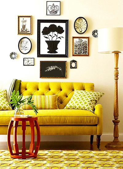 Rich Ochre Yellow Home Interior Design Trends by nazmiyal