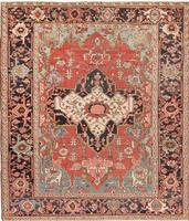 Antique Persian Heriz Serapi Persian Rug 44632