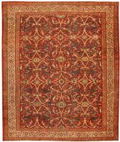 Antique Sarouk Farahan Persian Rug 43447