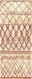 Folk Art Mid Century Vintage Tribal Moroccan Rug 48354 Nazmiyal