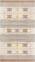 Vintage Swedish Kilim by Ingegerd Silow 48191