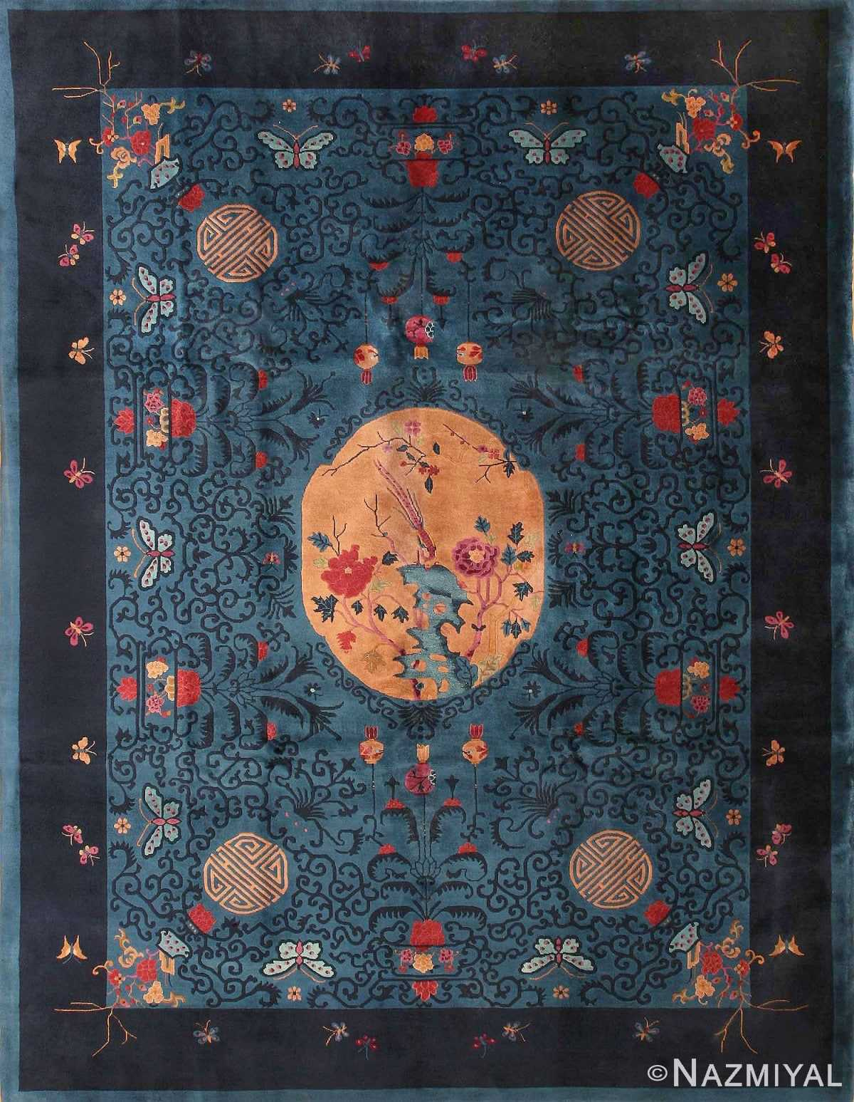 Antique Chinese Oriental Rugs 43745 Detail/Large View