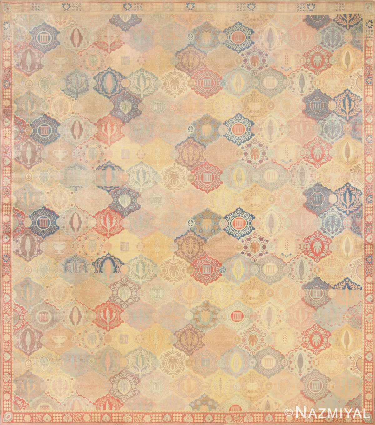 Antique Oversized Israeli Bezalel Carpet 48245 Detail/Large View