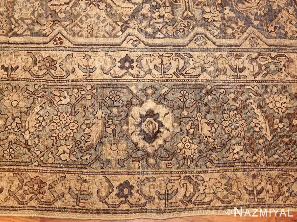 antique oversized persian malayer carpet 46139 border Nazmiyal