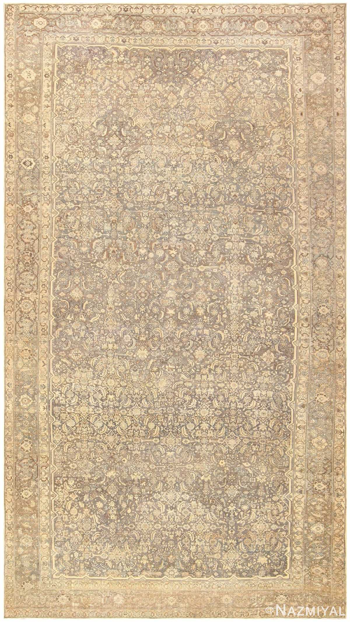 Antique Oversized Persian Malayer Carpet 46139 Detail/Large View