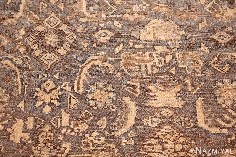 antique oversized persian malayer carpet 46139 detailed Nazmiyal
