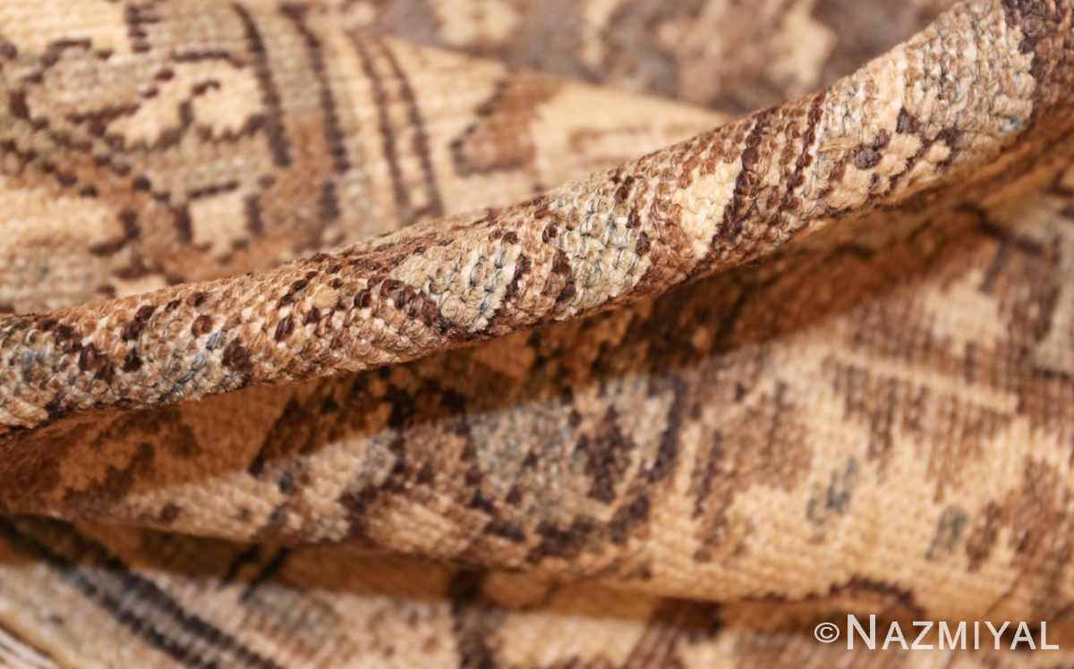 antique oversized persian malayer carpet 46139 pile Nazmiyal