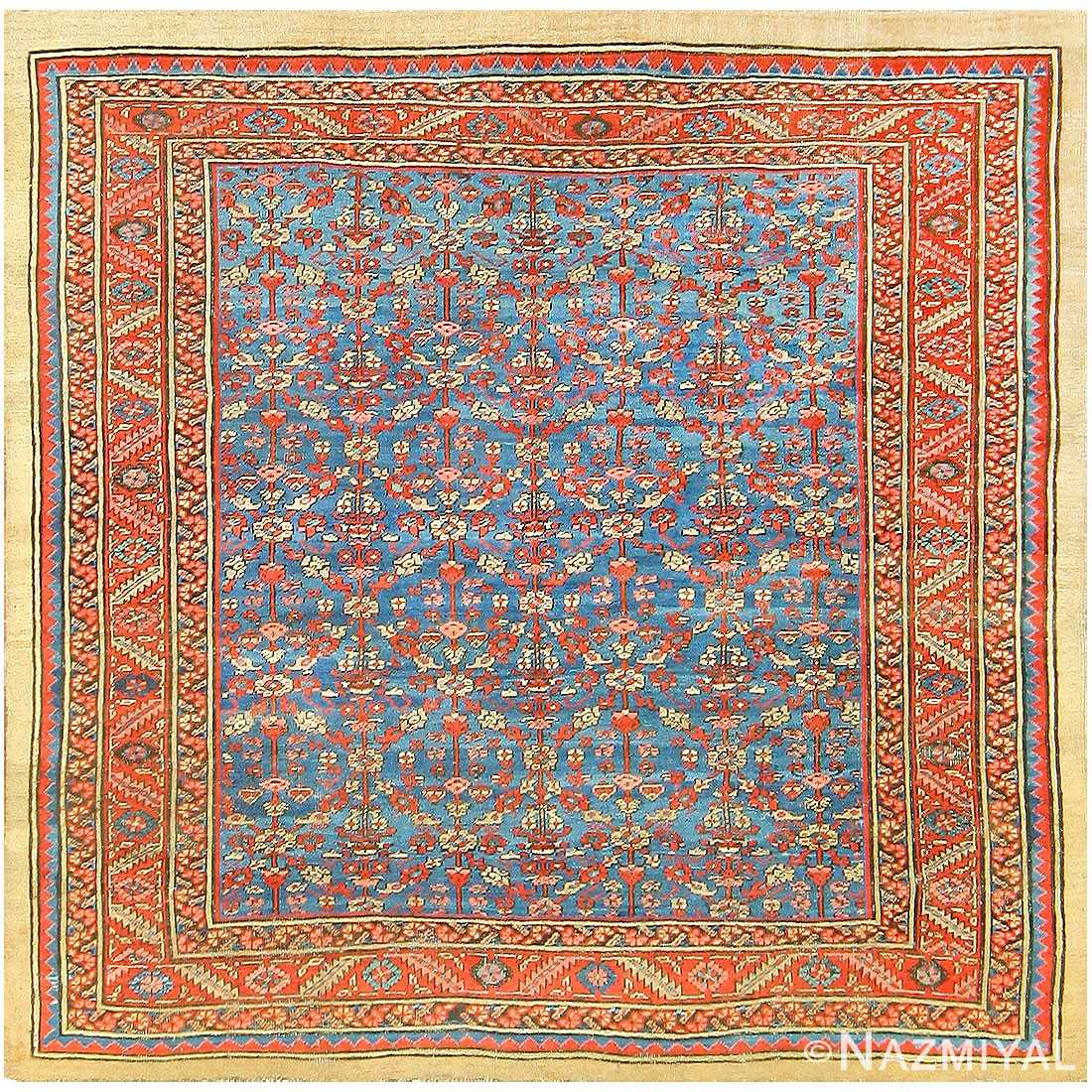 Antique Persian Bakshaish Carpet 48246 Detail/Large View