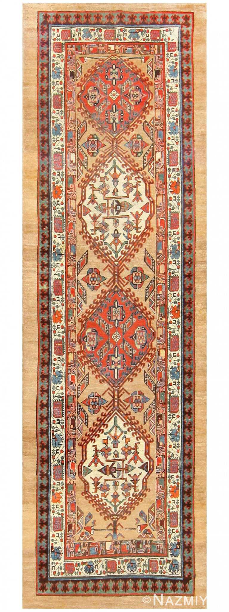 Antique Persian Serab Runner 48242 Detail/Large View