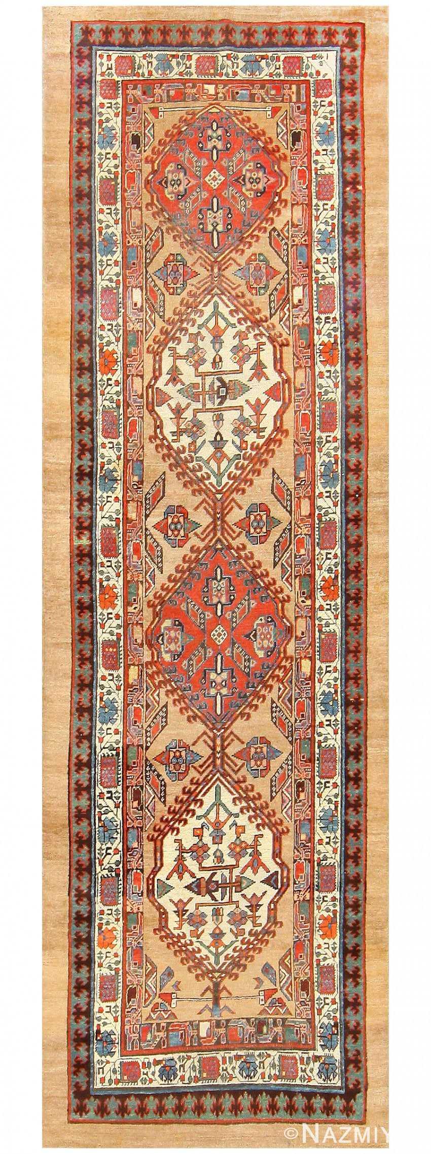 Antique Persian Serab Runner 48242 Detail/Large View