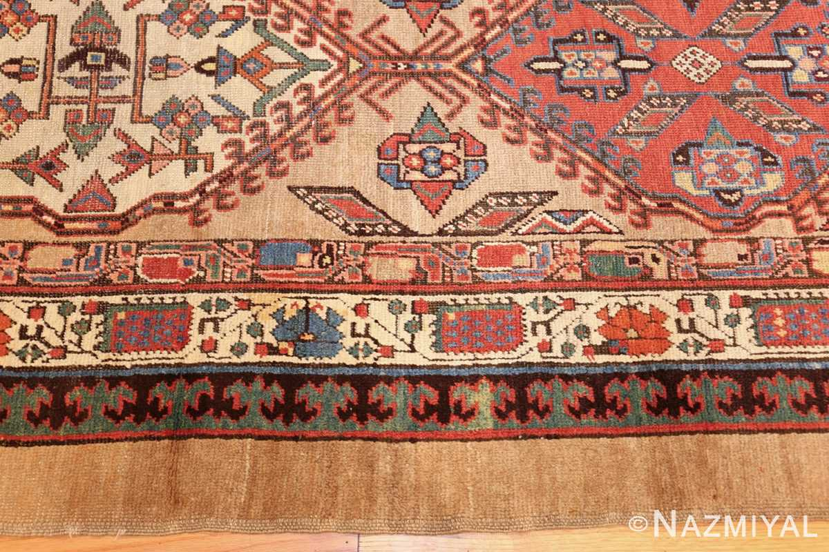 antique persian serab runner rug 48242 border Nazmiyal