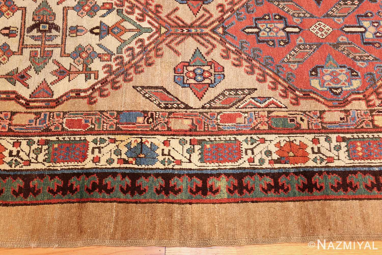 antique persian serab runner rug 48242 border Nazmiyal