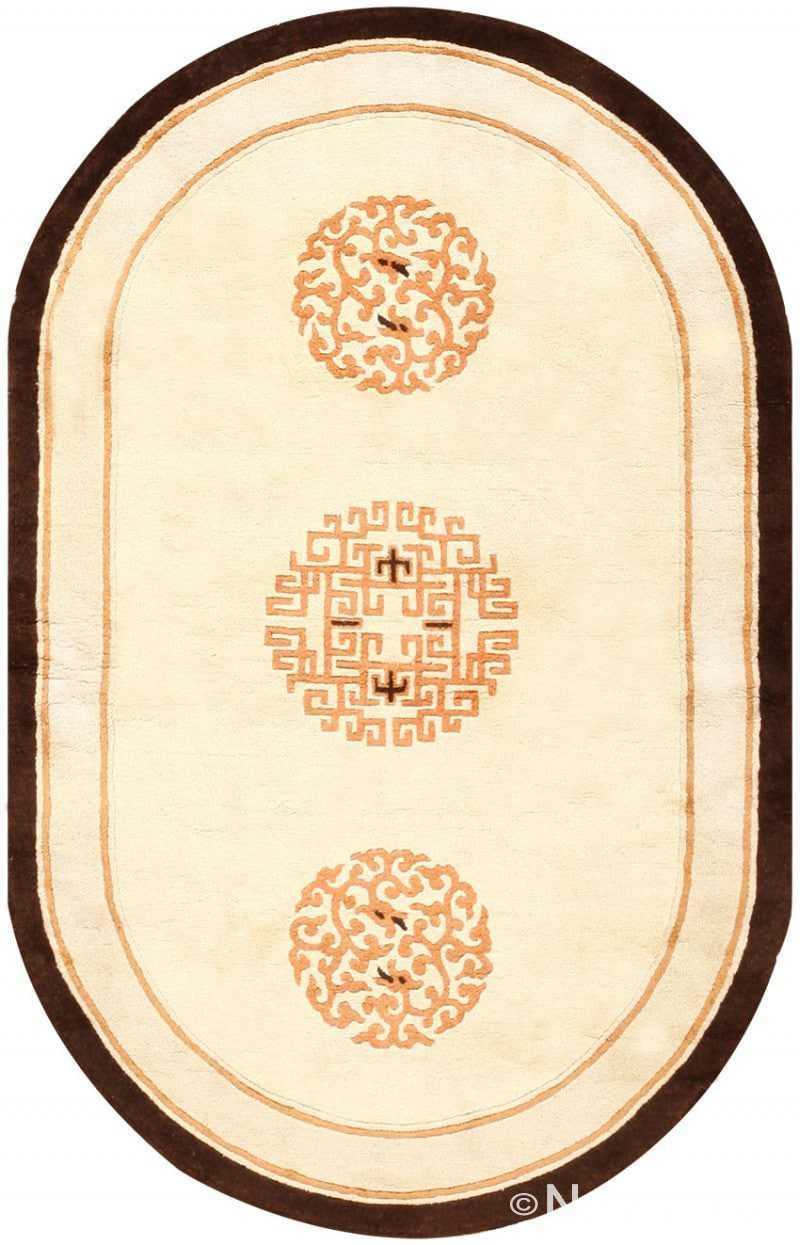Chinese Art Deco Rug 48013 Detail/Large View