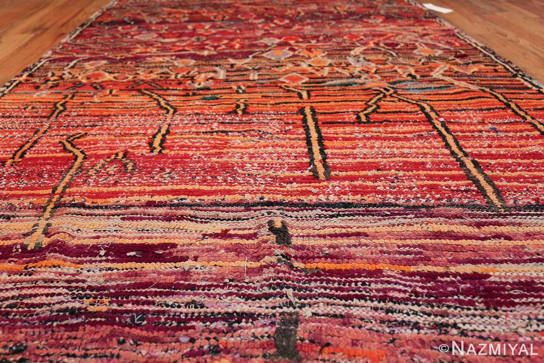 colorful Vintage Moroccan Rug 49859 Field Design Nazmiyal