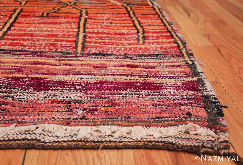 Colorful Vintage Moroccan Rug 49859 Side Corner Nazmiyal