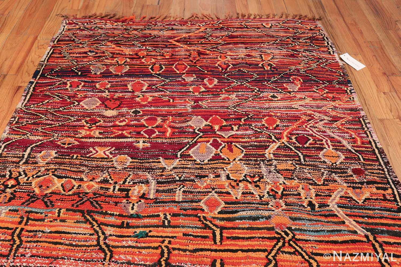 Colorful Vintage Moroccan Rug 49859 Top Design Nazmiyal