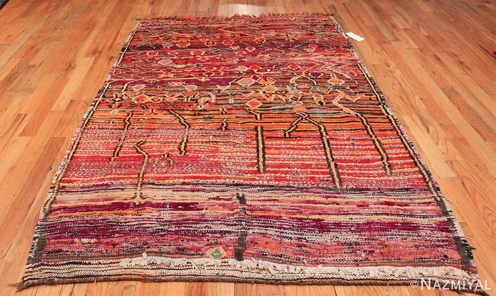 Colorful Vintage Moroccan Rug 49859 Whole Design Nazmiyal