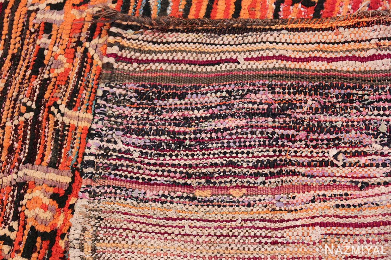 Colorful Vintage Moroccan Rug 49859 Woven Knots Nazmiyal