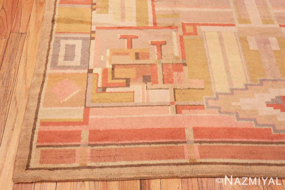 Corner French Art Deco rug 48237 by Nazmiyal