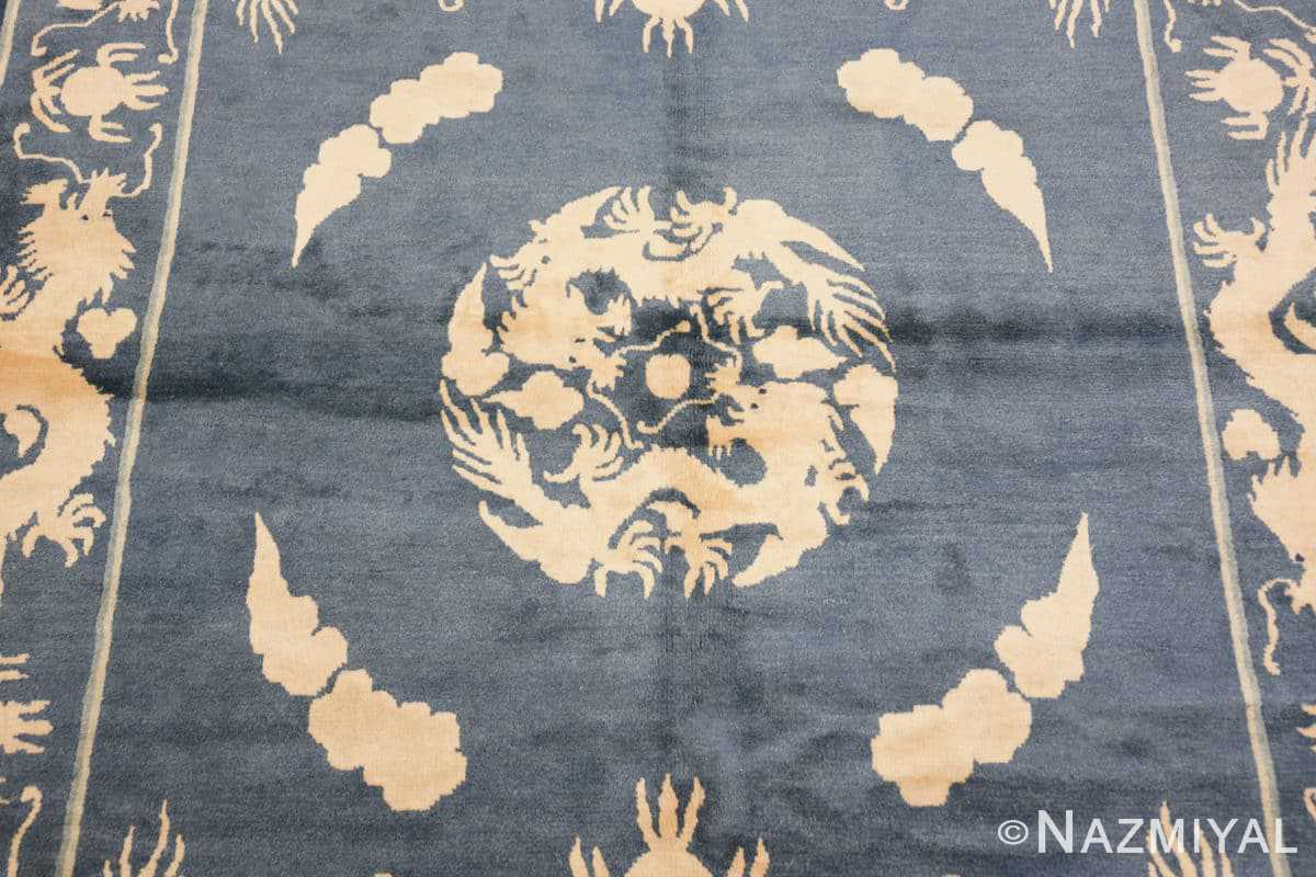 Field Antique Chinese Dragon rug 48212 by Nazmiyal