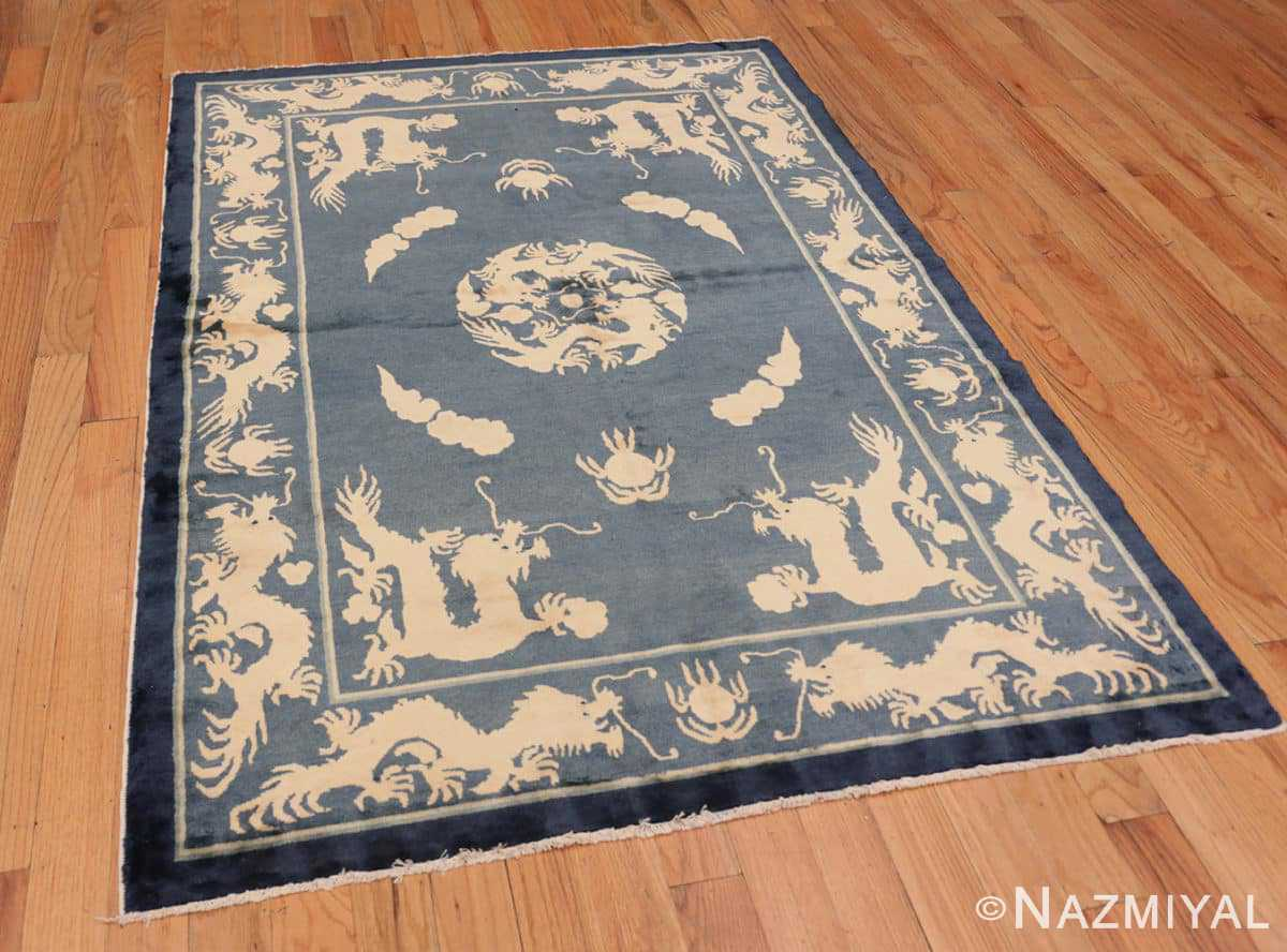 Full Antique Chinese Dragon rug 48212 by Nazmiyal