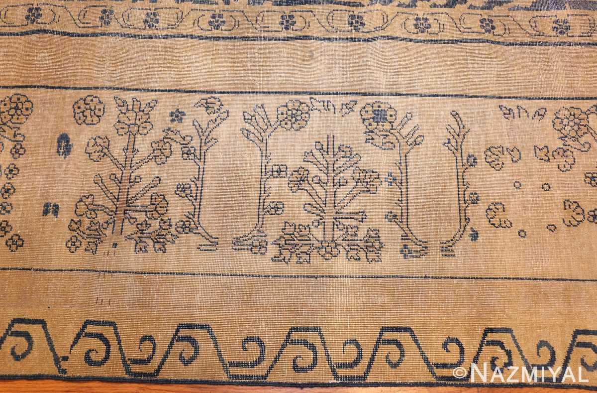large antique indian carpet 48301 border Nazmiyal