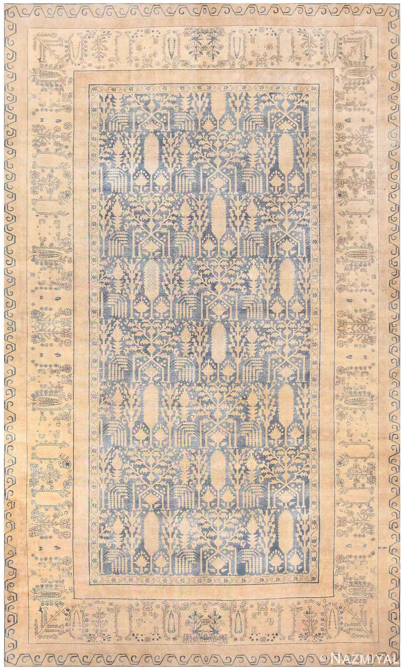 Large Antique Indian Carpet 48301 Detail/Large View