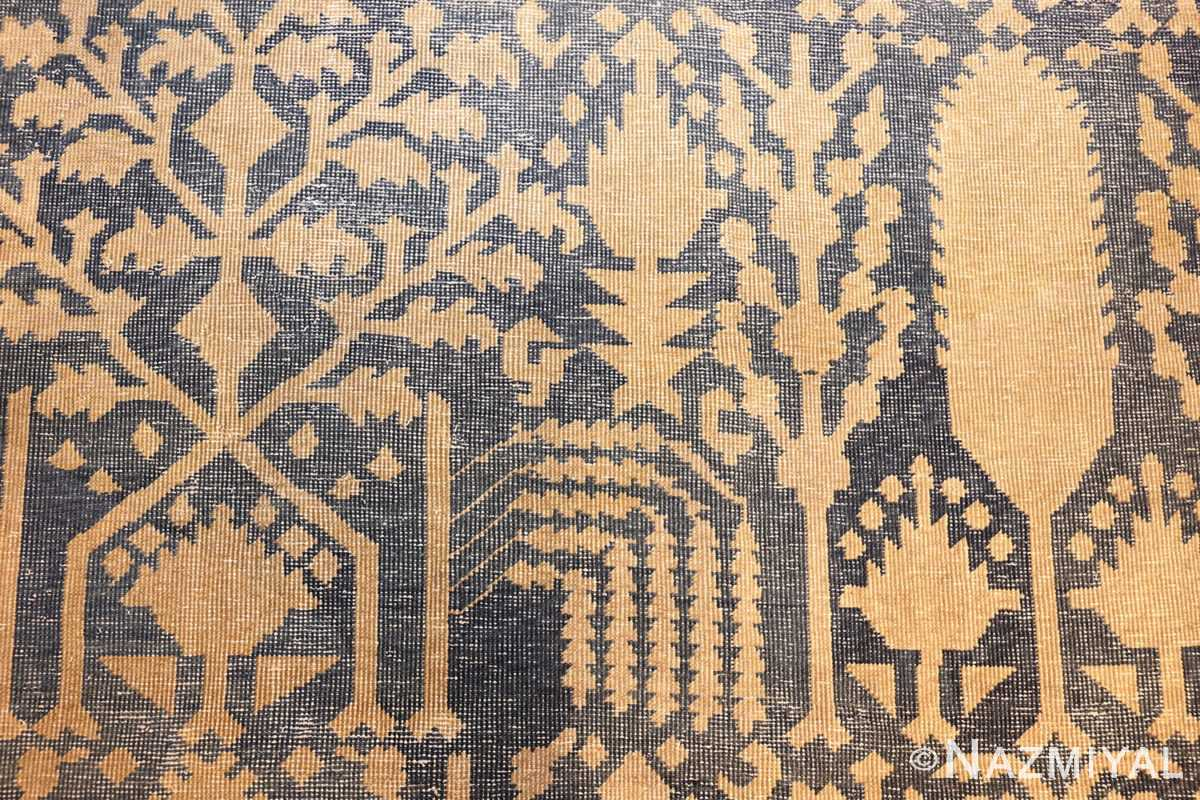 large antique indian carpet 48301 field Nazmiyal