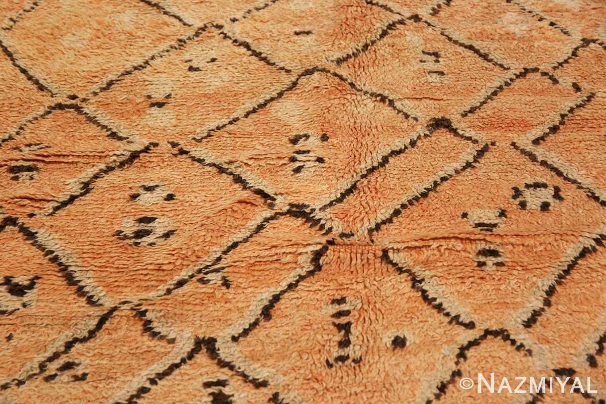 mid century vintage berber moroccan rug 48358 pattern Nazmiyal