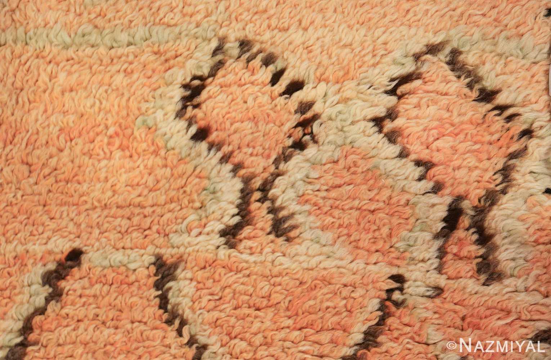 mid century vintage berber moroccan rug 48358 shapes Nazmiyal