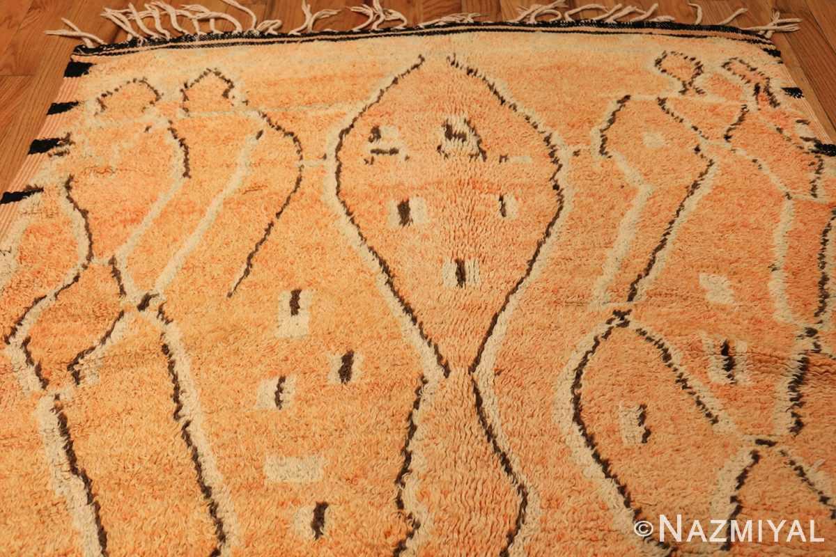 mid century vintage berber moroccan rug 48358 top Nazmiyal