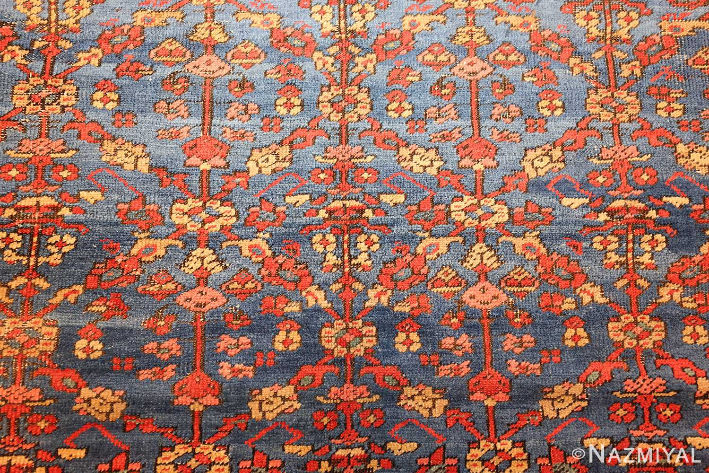 square antique persian bakshaish carpet 48246 field Nazmiyal
