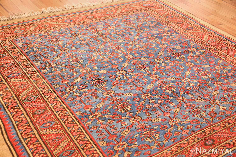 square antique persian bakshaish carpet 48246 side Nazmiyal
