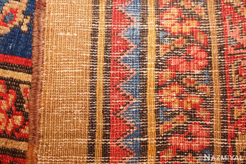 square antique persian bakshaish carpet 48246 weave Nazmiyal