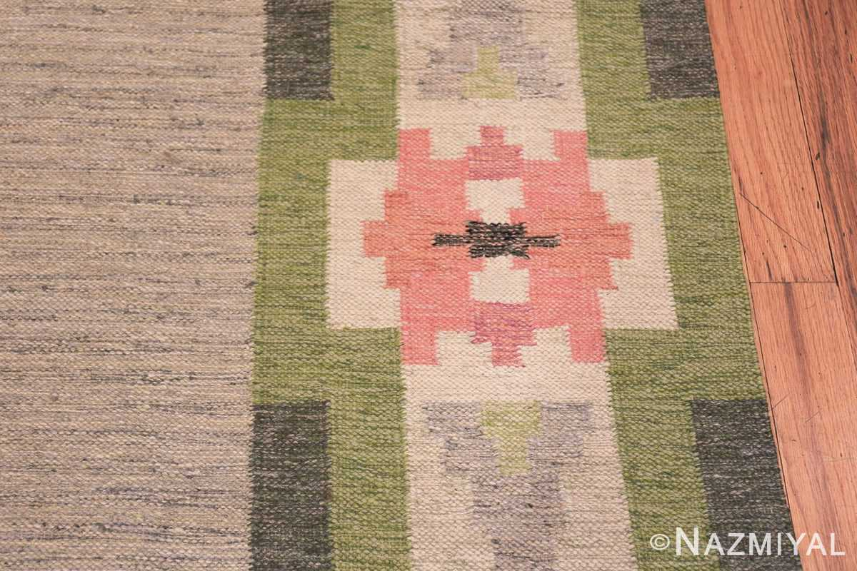 vintage swedish kilim by ingegerd silow 48335 border Nazmiyal