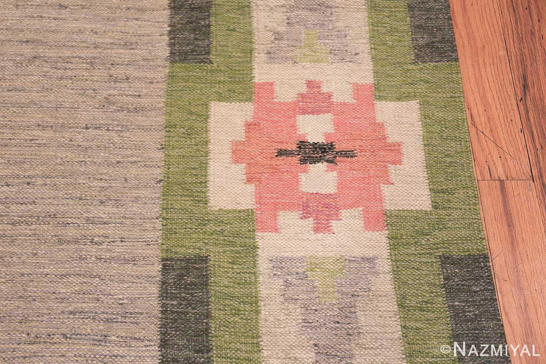 vintage swedish kilim by ingegerd silow 48335 border Nazmiyal