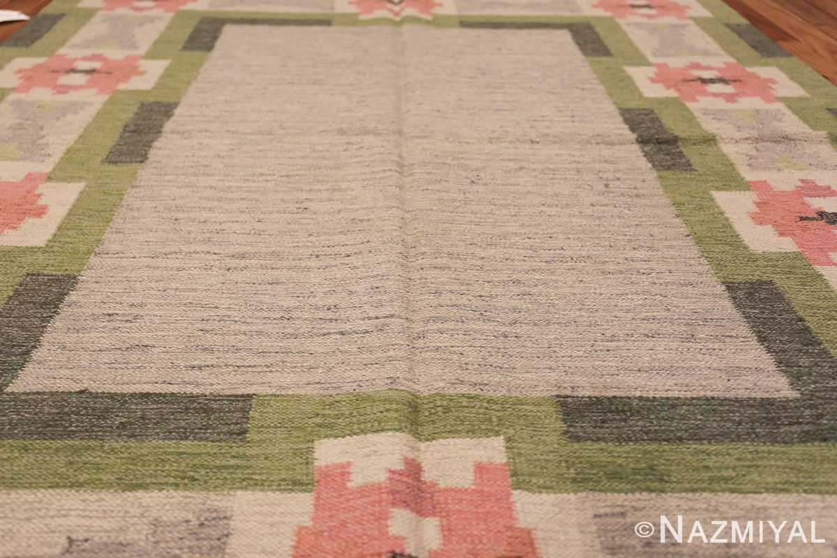 vintage swedish kilim by ingegerd silow 48335 field Nazmiyal