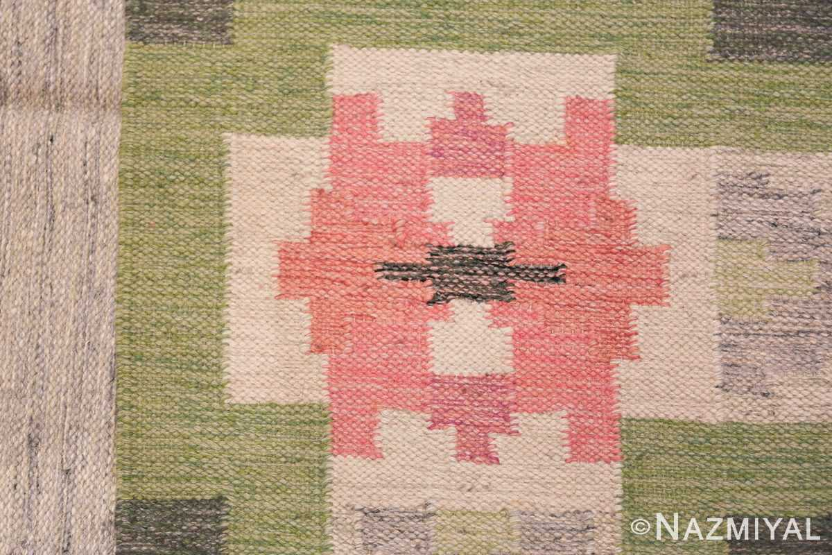 vintage swedish kilim by ingegerd silow 48335 knots Nazmiyal