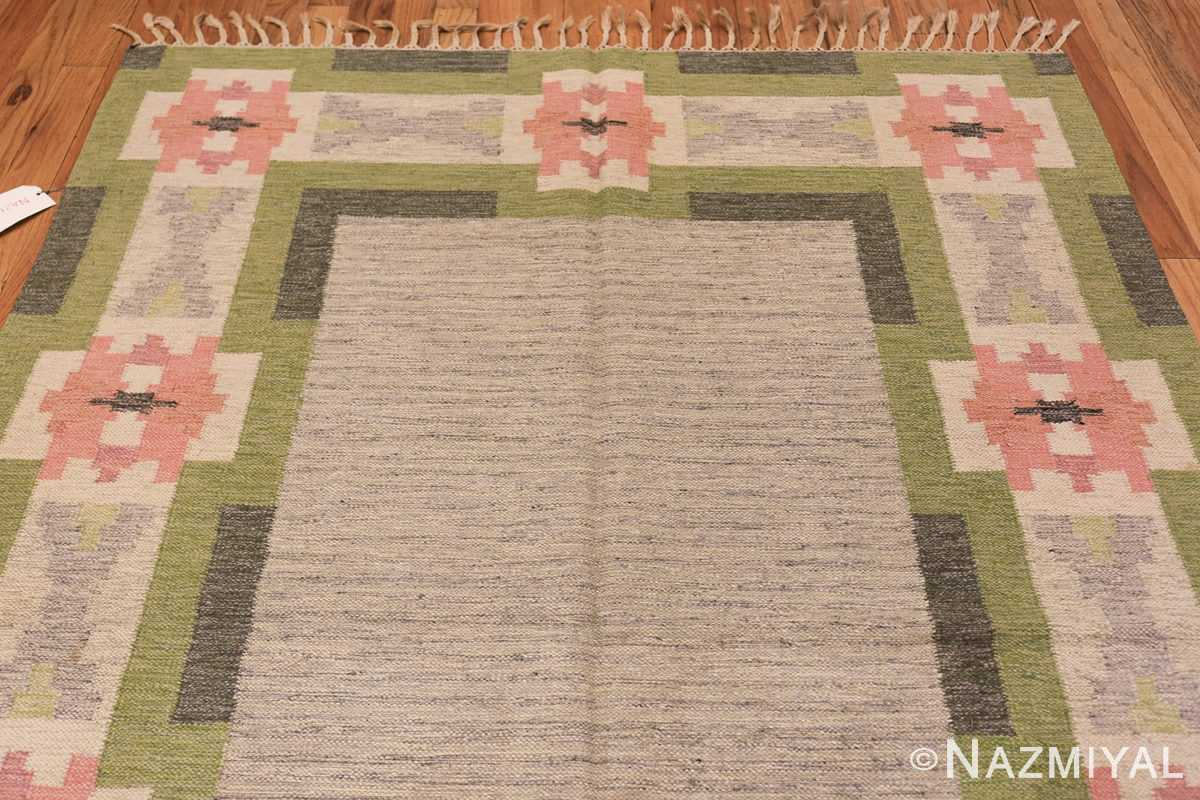 vintage swedish kilim by ingegerd silow 48335 top Nazmiyal