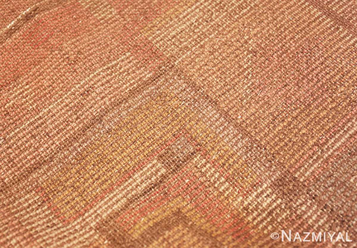 Weave detail French Art Deco rug 48237 by Nazmiyal