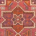 Judaic Motifs in Antique Israeli Bezalel Rug from Jerusalem 41553 by Nazmiyal