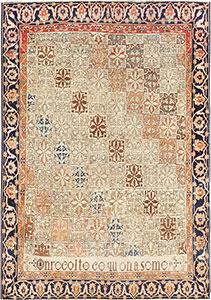 Fine Antique Persian Mohtashem Kashan Rug 47483